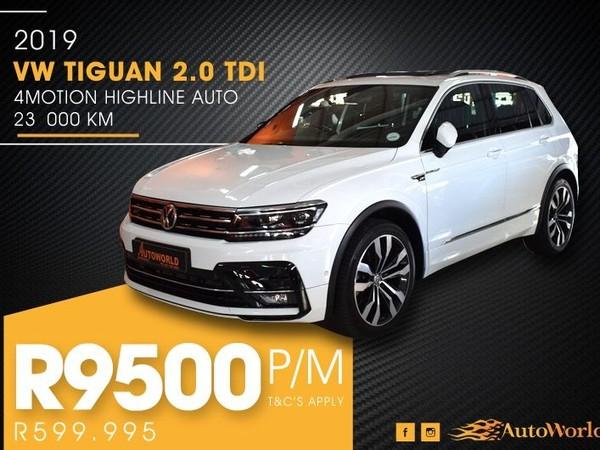 2019 Volkswagen Tiguan 2.0 TDI Highline 4Mot DSG Western Cape Goodwood_0