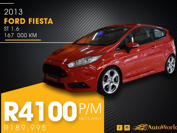 2013 Ford Fiesta ST 1.6 Ecoboost GDTi Western Cape Goodwood_0