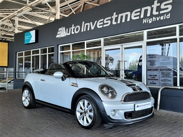 2014 MINI Cooper S S Roadster At sy32  Gauteng Centurion_0