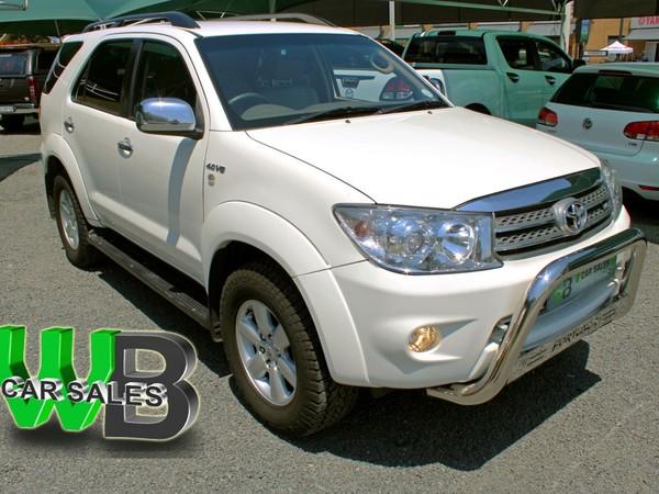 2011 Toyota Fortuner 4.0 V6 At  North West Province Klerksdorp_0