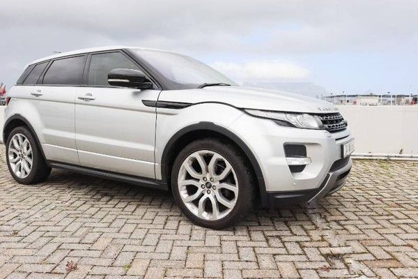 2013 Land Rover Evoque 2.2 Sd4 Dynamic  Western Cape Bloubergstrand_0