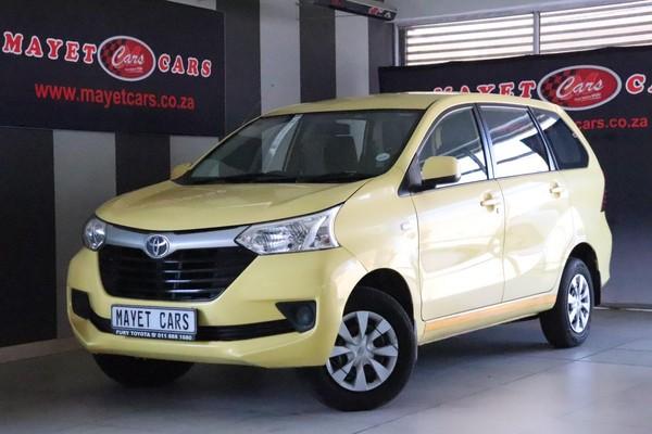 2017 Toyota Avanza 1.5 SX Mpumalanga Delmas_0