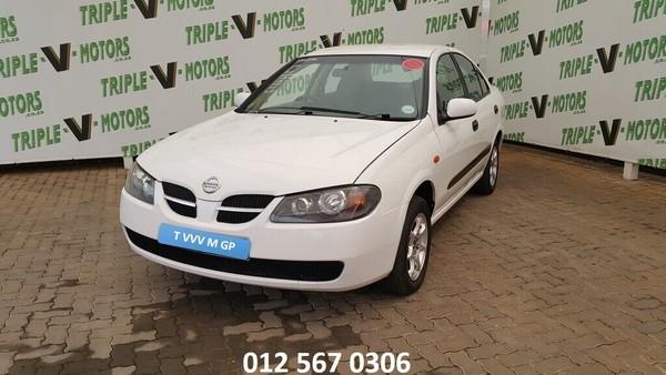 2004 Nissan Almera 1.6 Elegance h1728  Gauteng Pretoria_0