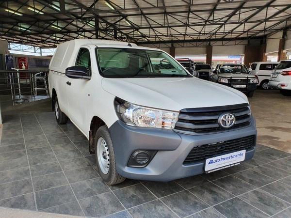 2020 Toyota Hilux 2.4 GD AC Single Cab Bakkie Limpopo Polokwane_0