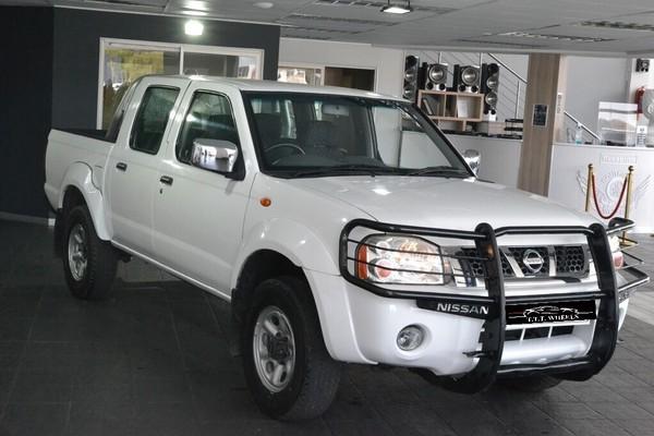 2015 Nissan Hardbody 2400i Se 4x4 j26 Pu Dc  Gauteng Johannesburg_0