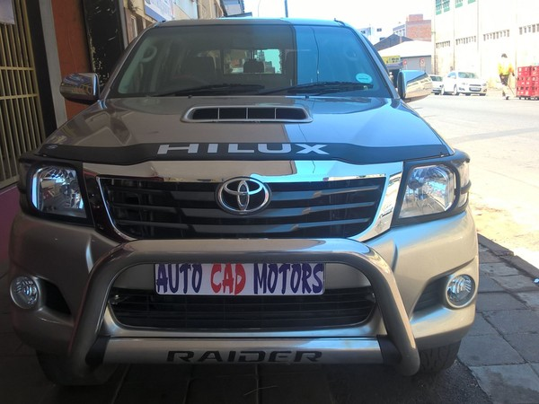 2011 Toyota Hilux 3.0 D-4d Raider 4x4 At Pu Dc  Gauteng Johannesburg_0