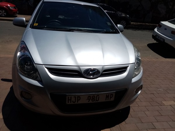2012 Hyundai i20 1.6  Gauteng Germiston_0