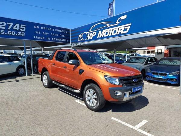2015 Ford Ranger 3.2TDCi WILDTRAK Auto Double Cab Bakkie Western Cape Bellville_0