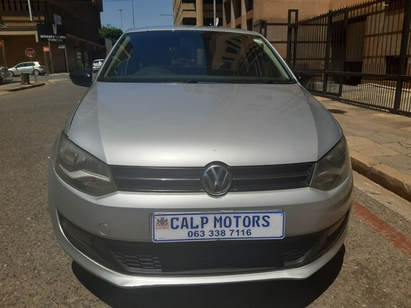 2012 Volkswagen Polo 1.4 Comfortline 5dr  Gauteng Marshalltown_0