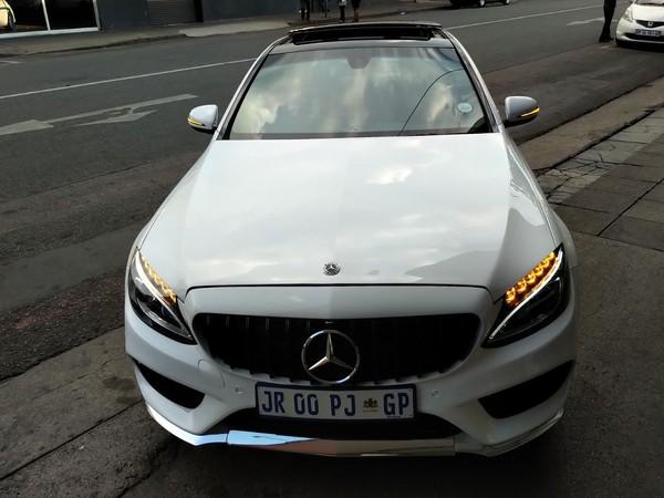 2017 Mercedes-Benz C-Class C180 AMG Line Auto Gauteng Pretoria_0