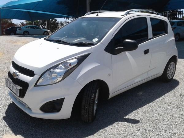 2017 Chevrolet Spark Pronto 1.2 FC Panel van Gauteng Roodepoort_0