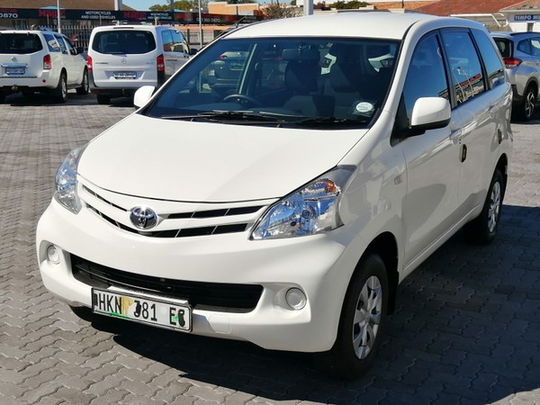 2015 Toyota Avanza 1.5 SX Automatic with only 39 800kms Eastern Cape Port Elizabeth_0