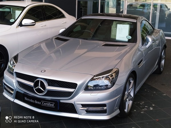 2014 Mercedes-Benz SLK-Class SLK200 AMG AT Gauteng Centurion_0