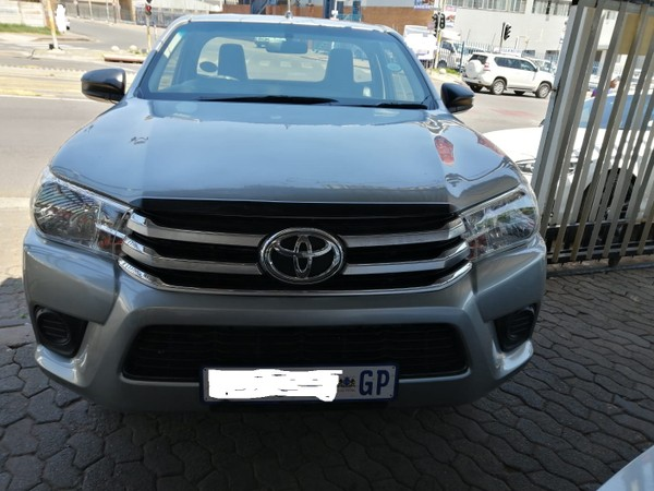 2017 Toyota Hilux 2.0 VVTi AC Single Cab Bakkie Gauteng Jeppestown_0