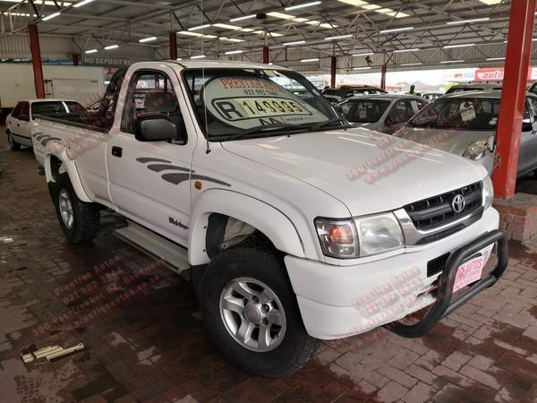 2003 Toyota Hilux 2700i Raider Rb Pu Sc  Western Cape Goodwood_0