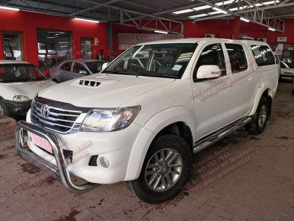 2013 Toyota Hilux 2.5 D-4d Raider Rb Pu Dc  Western Cape Goodwood_0
