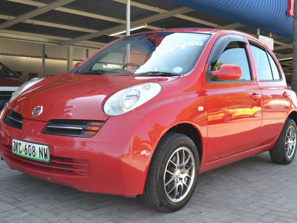 2005 Nissan Micra 1.4 Comfort d60  North West Province Klerksdorp_0