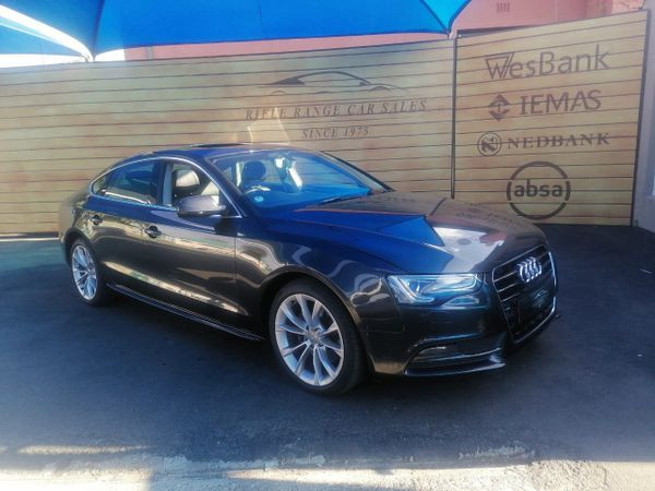 2014 Audi A5 Sprtback 2.0 Tdi Multi  Gauteng Rosettenville_0