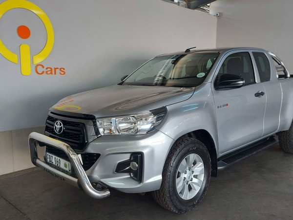 2018 Toyota Hilux 2.4 GD-6 RB SRX PU ECAB Mpumalanga Mpumalanga_0