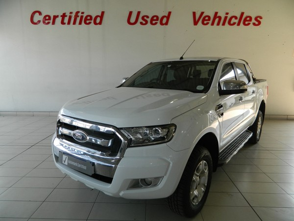 2016 Ford Ranger 3.2TDCi XLT 4X4 Auto Double Cab Bakkie North West Province Brits_0
