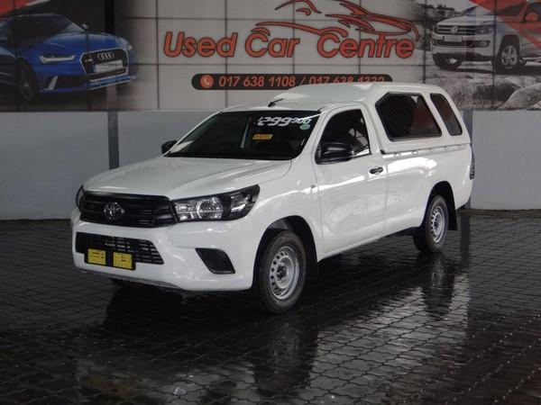 2018 Toyota Hilux 2.4 GD AC Single Cab Bakkie Mpumalanga Trichardt_0