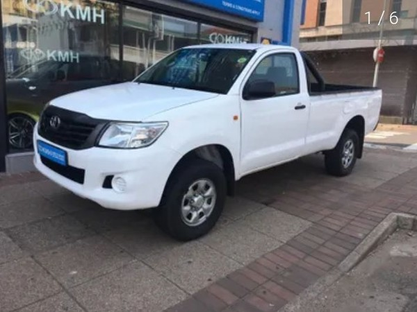 2015 Toyota Hilux 2.5 D-4d Srx Rb Pu Sc  Kwazulu Natal Durban_0