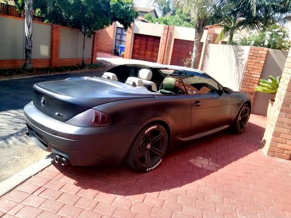 2009 BMW M6 Convertible e64  Gauteng Pretoria_0