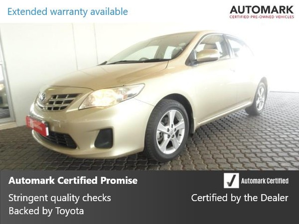 2012 Toyota Corolla 1.3 Advanced  Gauteng Brakpan_0