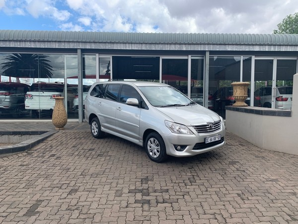 2013 Toyota Innova 2.7 Vvti 7 Seat  Mpumalanga Delmas_0