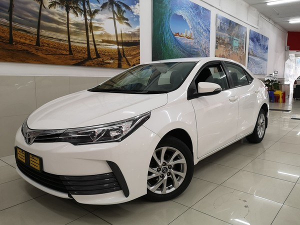 2017 Toyota Corolla 1.6 Prestige CVT Kwazulu Natal Durban_0