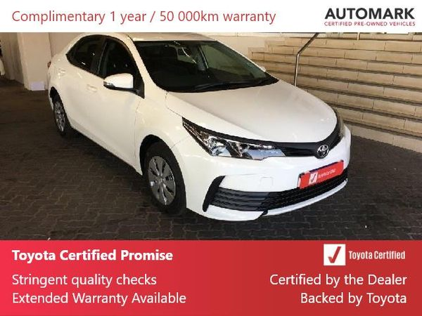 2020 Toyota Corolla Quest 1.8 Gauteng Roodepoort_0