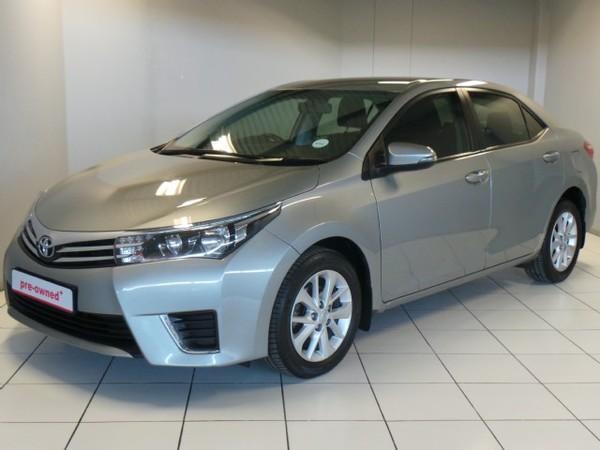 2015 Toyota Corolla 1.6 Prestige CVT Gauteng Pretoria_0