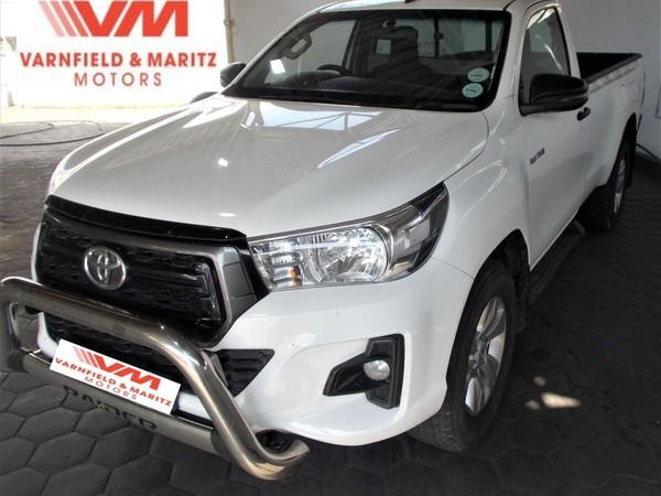 2019 Toyota Hilux 2.4 GD-6 RB SRX Auto Single Cab Bakkie Gauteng Pretoria North_0