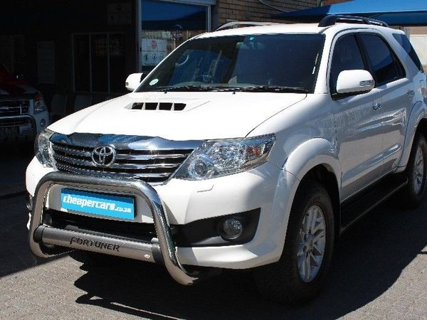 2012 Toyota Fortuner 3.0d-4d 4x4 At  Western Cape Bellville_0