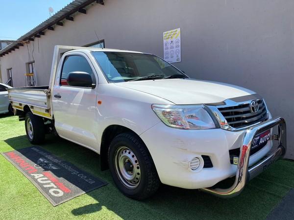 2015 Toyota Hilux 2.5 D-4d S Pu Sc  Gauteng Boksburg_0