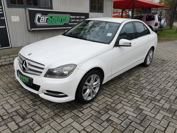 2014 Mercedes-Benz C-Class C200 Be Avantgarde At  Mpumalanga Nelspruit_0