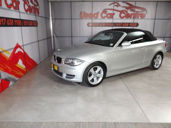 2008 BMW 1 Series 125i Convertible  Mpumalanga Trichardt_0