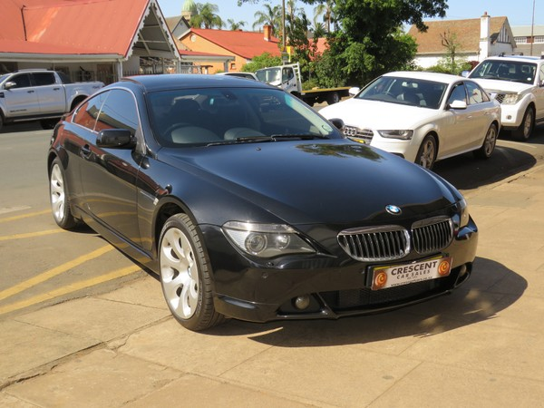 2006 BMW 6 Series 650i Coupe At e63  Kwazulu Natal Pietermaritzburg_0
