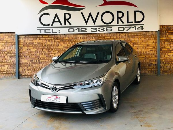 2018 Toyota Corolla 1.4D PRESTIGE DSL Gauteng Pretoria_0