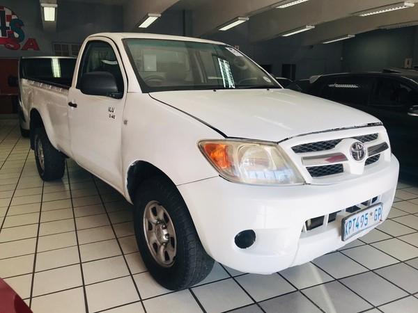 2009 Toyota Hilux 2.5 D-4d Pu Sc  Gauteng Springs_0