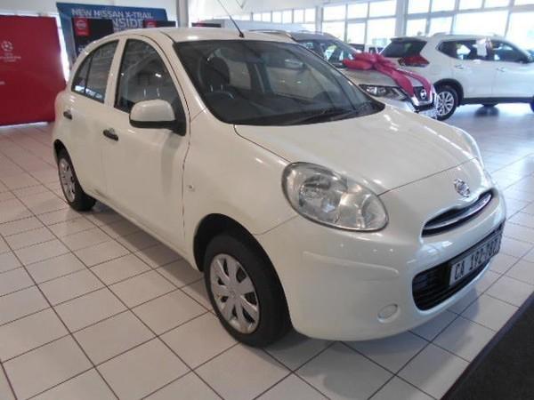 2012 Nissan Micra 1.2 Visia 5dr d82  Western Cape Cape Town_0