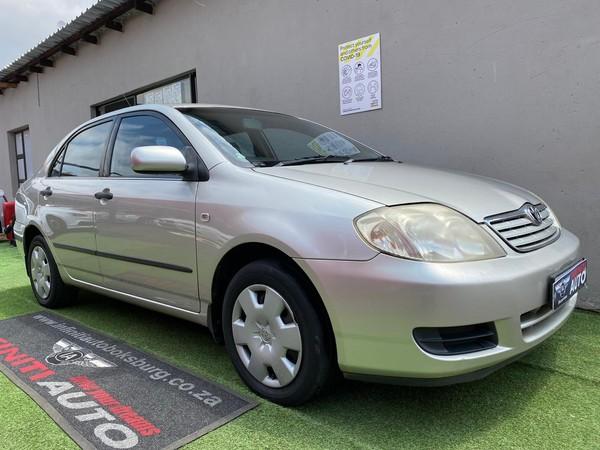 2005 Toyota Corolla 160i Gls  Gauteng Boksburg_0