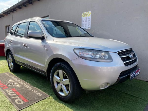 2008 Hyundai Santa Fe 2.2 Crdi  Gauteng Boksburg_0
