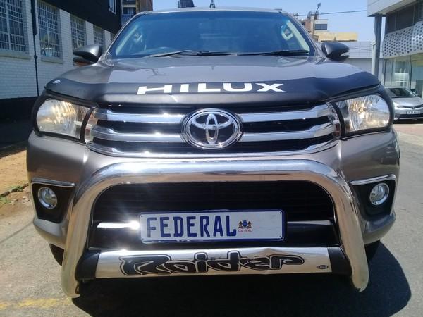 2016 Toyota Hilux 2.8 GD-6 RB Raider Extended Cab Bakkie Gauteng Johannesburg_0