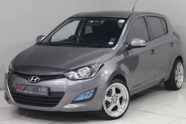 2013 Hyundai i20 1.4 Fluid At  Gauteng Nigel_0