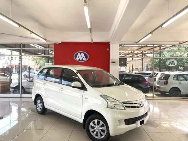 2013 Toyota Avanza 1.5 Sx  Gauteng Vereeniging_0