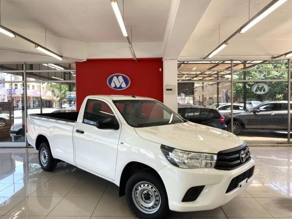 2018 Toyota Hilux 2.4 GD AC Single Cab Bakkie Gauteng Vereeniging_0