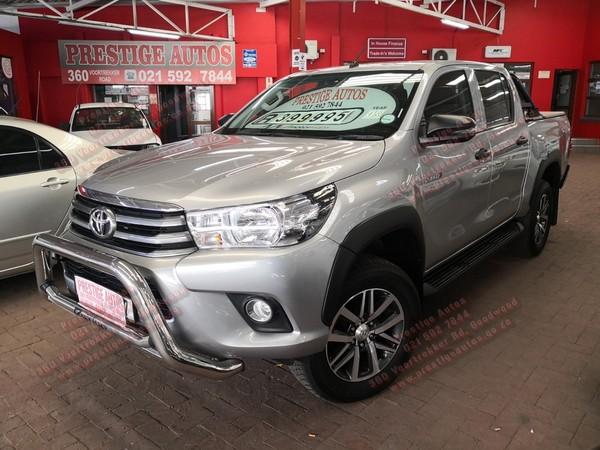 2018 Toyota Hilux 2.4 GD-6 RB SRX Double Cab Bakkie Western Cape Goodwood_0