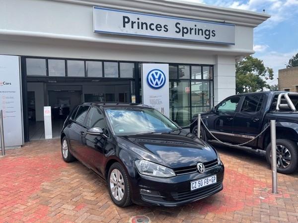 2014 Volkswagen Golf Vii 1.4 Tsi Comfortline Dsg  Gauteng Springs_0