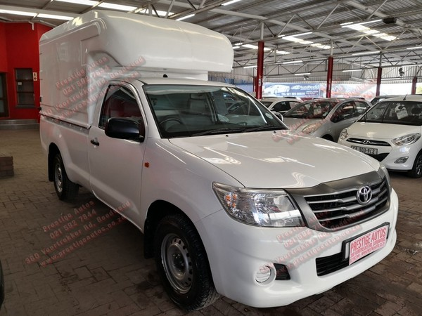 2015 Toyota Hilux 2.5 D-4d Pu Sc  Western Cape Goodwood_0